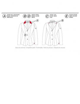 Animo custom made show jacket Lud - 6