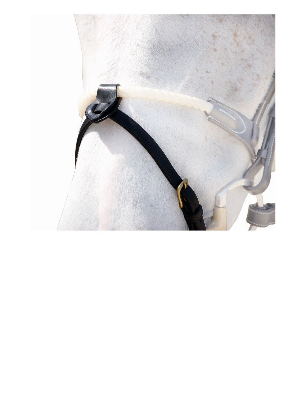 """Dyon D Collection Nose strap 1/2"""" with 2 free loops - 2"""