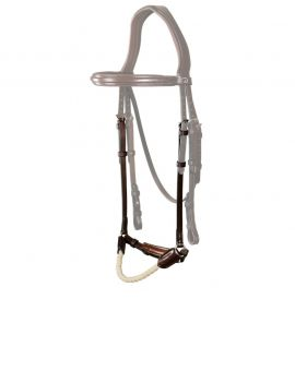 Dyon New English Collection drop rope noseband - 1