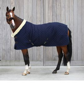 Kentucky horsewear show rug 160g navy blue - 1