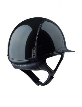 Samshield Miss Shield shadow glossy rijhelm - 3