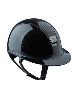 Samshield Miss Shield shadow glossy riding helmet - 1