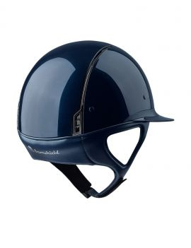 Samshield Miss Shield shadow glossy rijhelm - 4