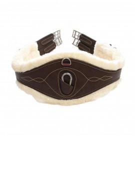 Kentucky horsewear sheepskin leather girth