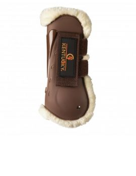 Kentucky horsewear tendon boots air sheepskin - 1