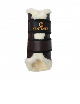 Kentucky horsewear turnout boots leather back - 1