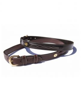 Dyon fancy stitch belt