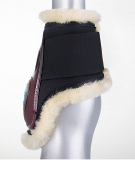Equick Rear protection eSHOCK young horses sheepskin