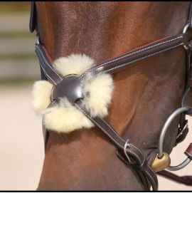 Dyon Working Collection figure 8 noseband bridle - 2
