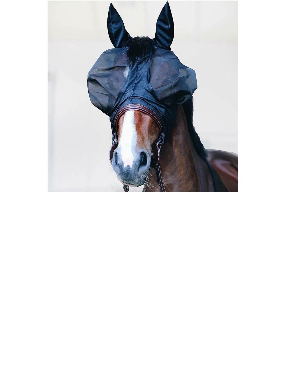 Kentucky Horsewear fly mask slim fit - 1