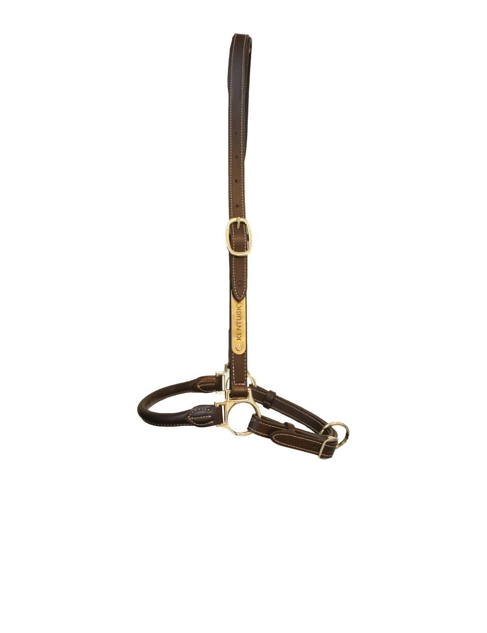 Kentucky Horsewear Leather Grooming Halter - 1