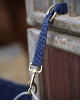 Kentucky Horsewear Nylon Halter hook & ring - 2
