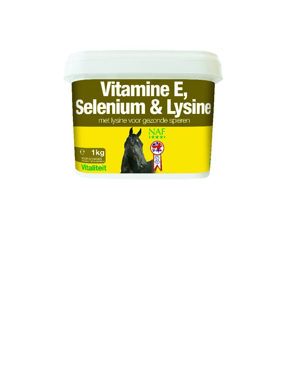 NAF Vitamin E and Selenium Plus - 1