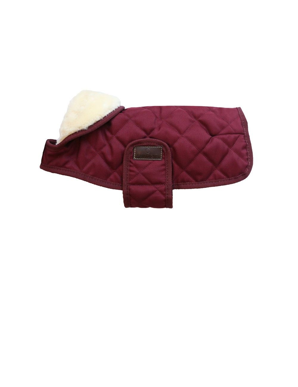 Kentucky Horsewear dog coat burgundy red - 1