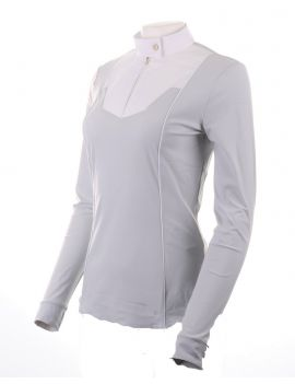 Vestrum ladies show shirt Gatineau light grey