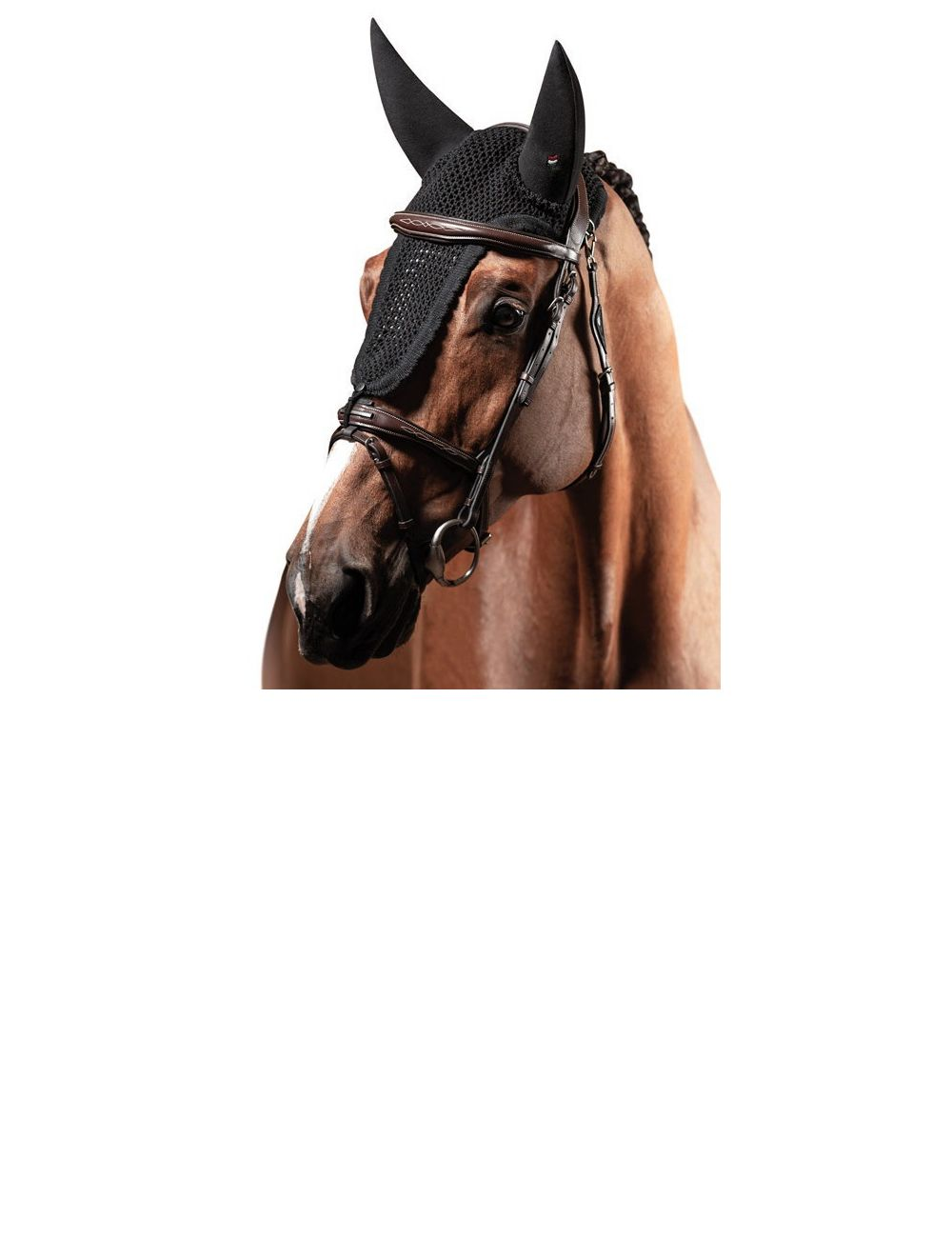 Equiline fly veil standard soundless with loop Ruben Custom Made - 1