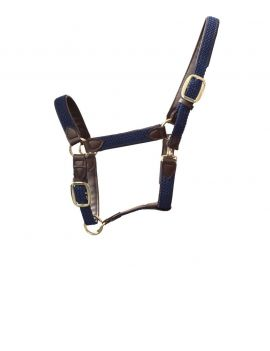 Kentucky Horsewear Plaited Nylon Halter