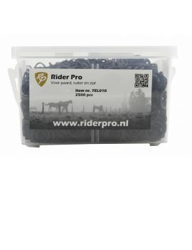 RiderPro Plaiting Bands 2500 pieces