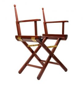 One Wooden Frame Director Chair - 1