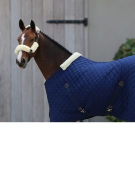 Kentucky horsewear Stalldecke marineblau winter - 1