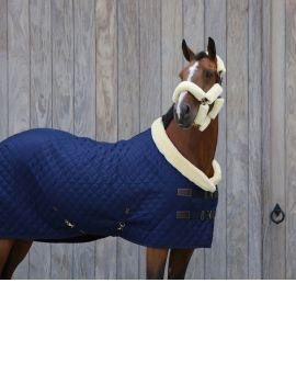Kentucky horsewear show rug 160g navy blue - 4