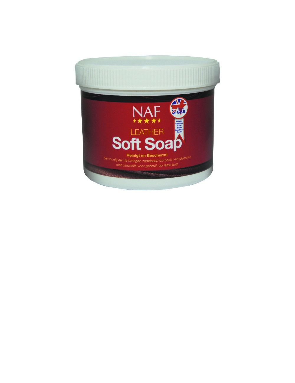NAF Leather Soft Soap zadelzeep - 1