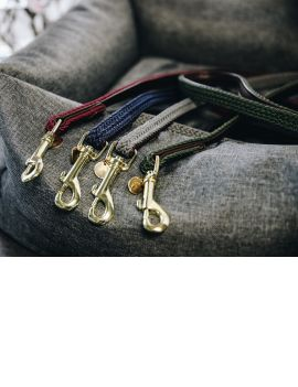 Kentucky Plaited Nylon Dog Lead - 1