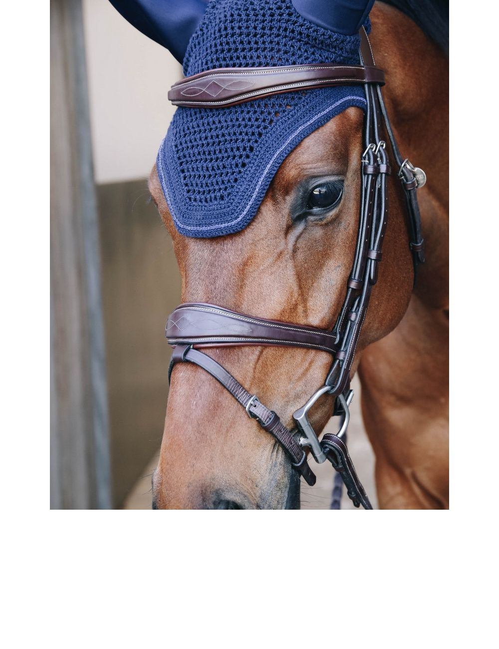 Kentucky Horsewear Fliegenmütze Wellington Sparkling soundless - 1