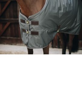 Kentucky Horsewear Turnout Rug All Weather 160g grey green - 4