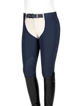 Equiline long chaps ladies knee-grip softshell Dalia