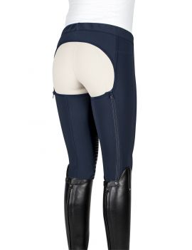 Equiline long chaps ladies knee-grip softshell Dalia - 1