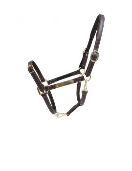 Kentucky Horsewear Leather Halter Flexible