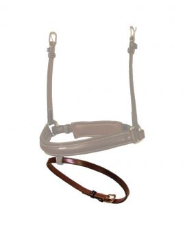 Dyon Collection Flat flash noseband strap wide