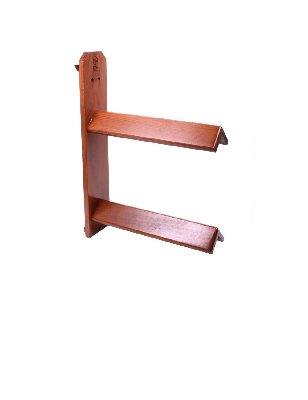 One Equestrian luxury wooden saddle rack