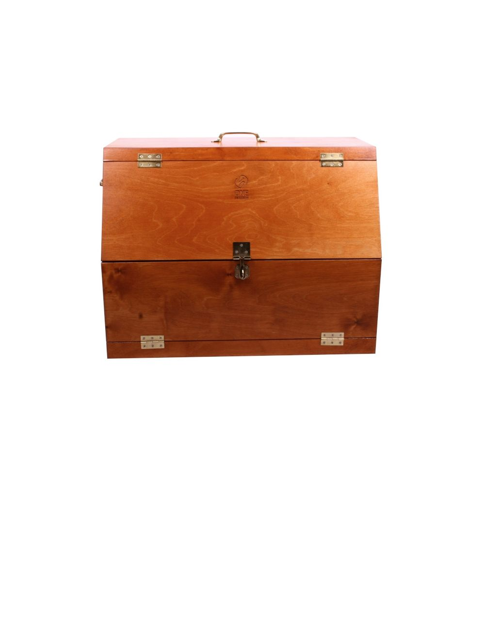 One Equestrian wooden grooming box - 1