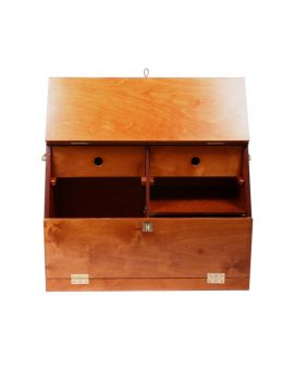 One Equestrian wooden grooming box - 3