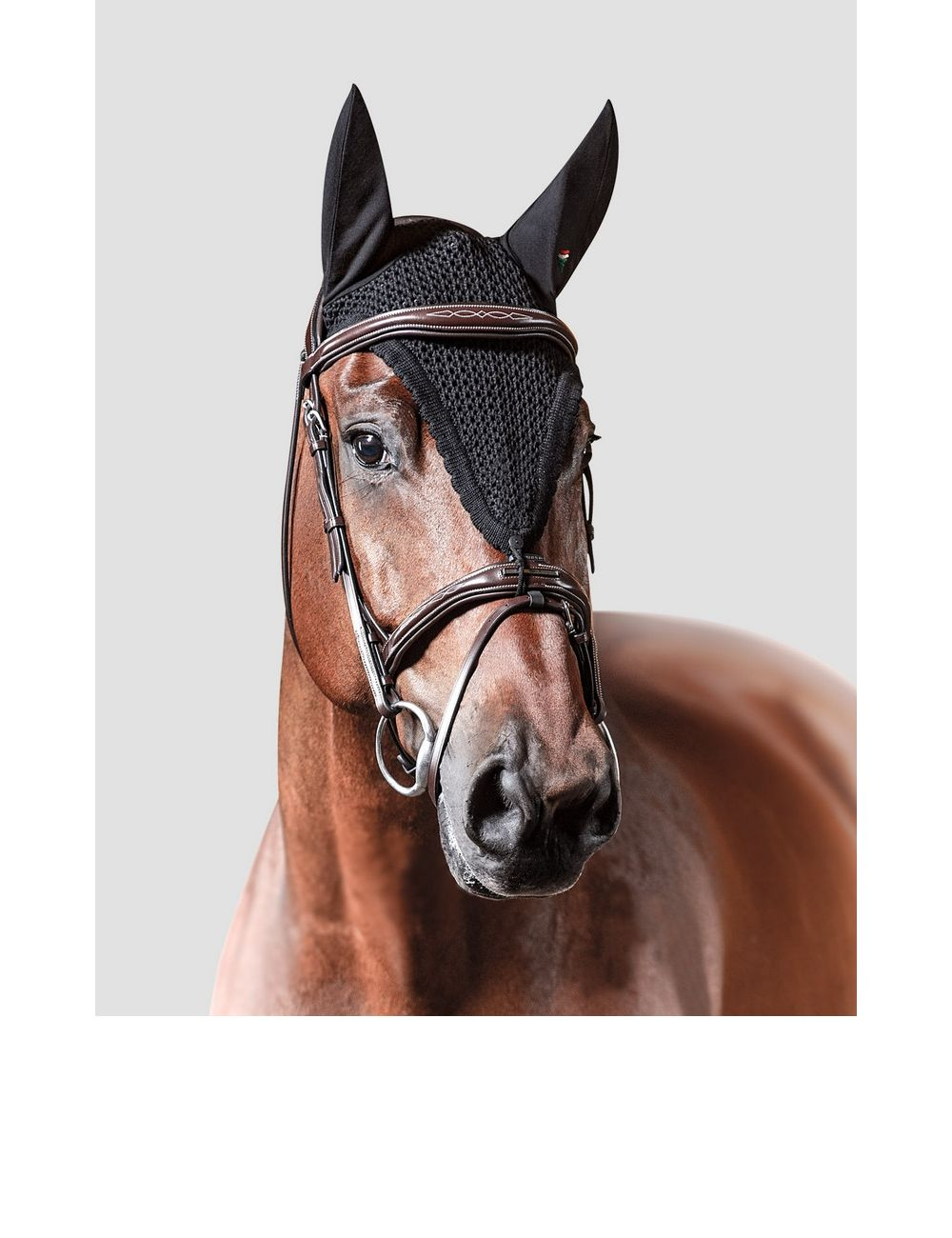Equiline custom made fly veil with loop - 1