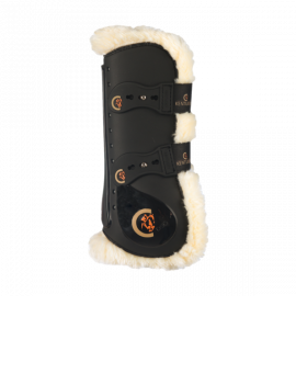 Kentucky horsewear tendon boots elastic sheepskin - 2