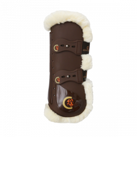 Kentucky horsewear tendon boots elastic sheepskin