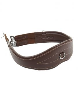 LJ Leathers Anatomic Leather Girth - 1