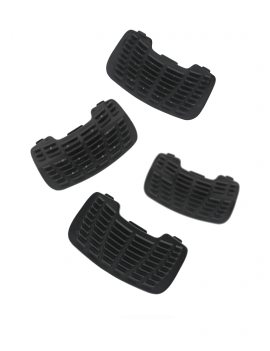 Flex-on pair of stirrup inserts - 1