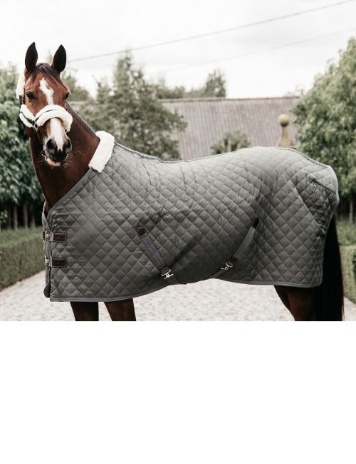 Kentucky horsewear stable rug winter grey green Limited Edition - 1
