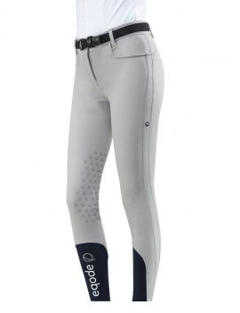 Eqode breeches ladies knee-grip light grey - 1