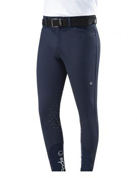 Eqode riding breeches men knee-grip navy - 1