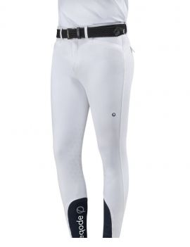 Eqode riding breeches men knee-grip white - 1
