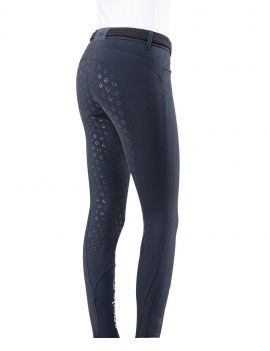 Eqode riding breeches ladies full-grip navy - 2