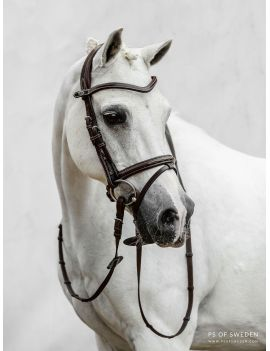 PS of Sweden Pro Jump Bridle flash noseband PONY Stockholm - 1