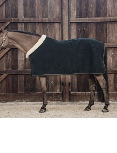 Kentucky Horsewear Fleece Rug Show Heavy Green - 1