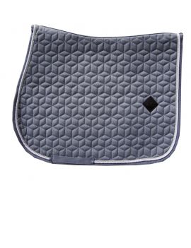 Kentucky Horswear Saddlepad Wool Grey - 1