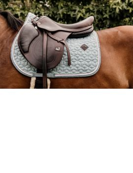 Kentucky Horswear Saddlepad Wool Light blue - 1